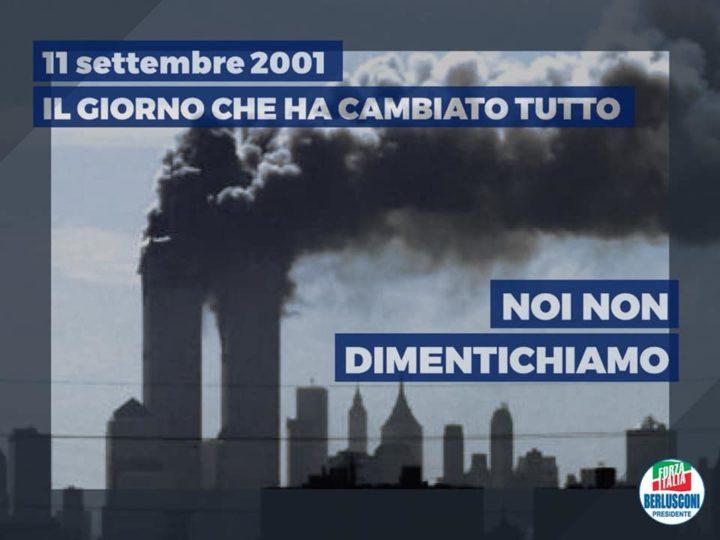 11 Settembre 2001/2019 Noi non dimentichiamo