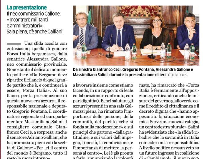 """Forza Italia prepara il rilancio: """"Serve un centrodestra plurale"""""""