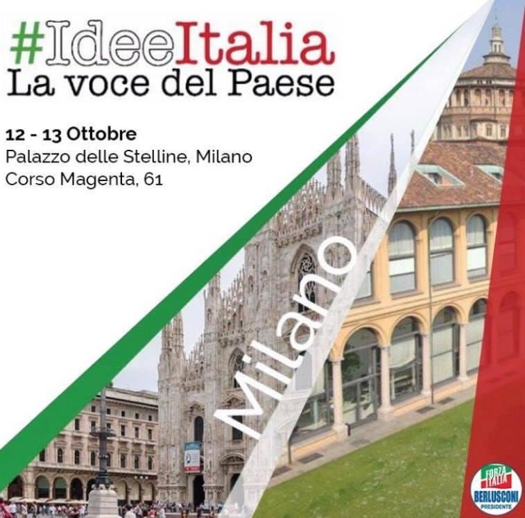 #IdeeItalia 2019 – 12-13 ottobre Milano