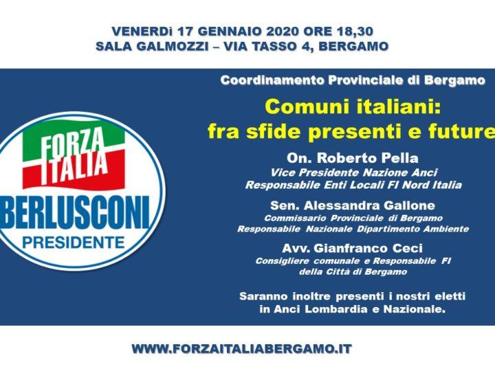 """Incontro: """"Comuni italiani: fra sfide presenti e future"""""""