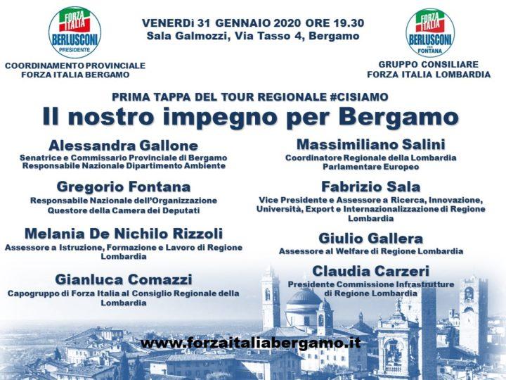 """Incontro: """"Il nostro impegno per Bergamo"""""""