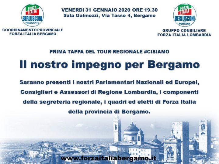 """Promemoria incontro: """"Il nostro impegno per Bergamo"""" – 31 gennaio 2020"""