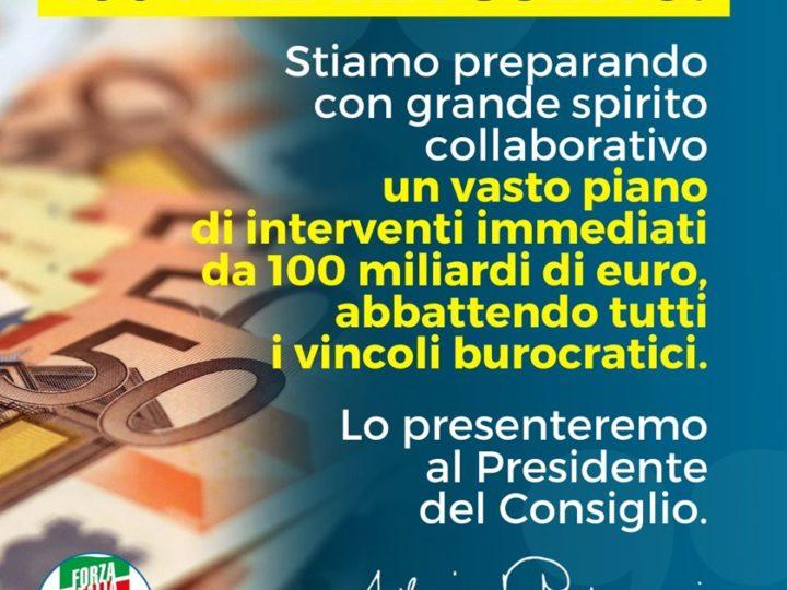 """Emergenza Covid-19: Gallone e Fontana: """"Dal Governo briciole, serve poderosa iniezione di liquidità per le famiglie e di credito per le imprese""""."""