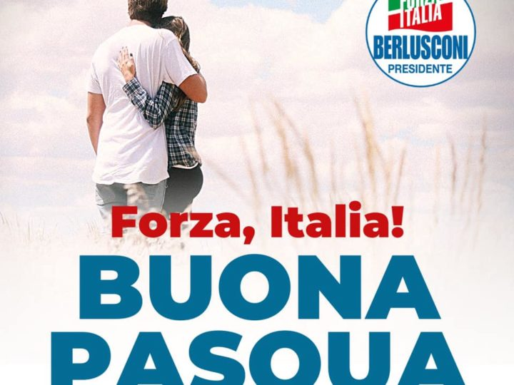 La lettera di Alessandra Gallone e Gregorio Fontana. Auguri di Buona Pasqua.