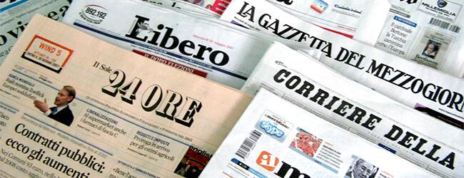 Rassegna stampa: Tajani incontra le categorie economiche bergamasche