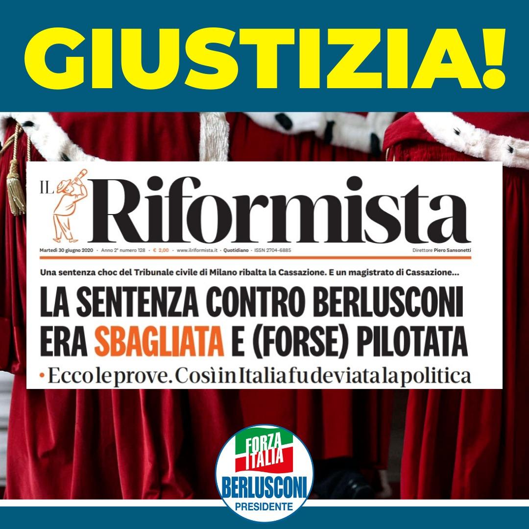 "Berlusconi, Gregorio Fontana (FI): ""Sia resa piena giustizia"""