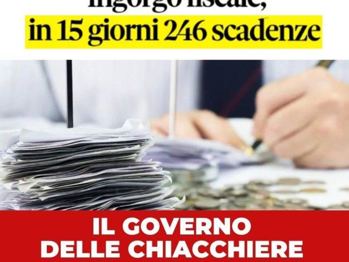 """Scadenze fiscali, Fontana e Gallone (FI): """"A luglio 246 scadenze fiscali in 15 giorni. Rinviare tutto al 30 settembre"""""""