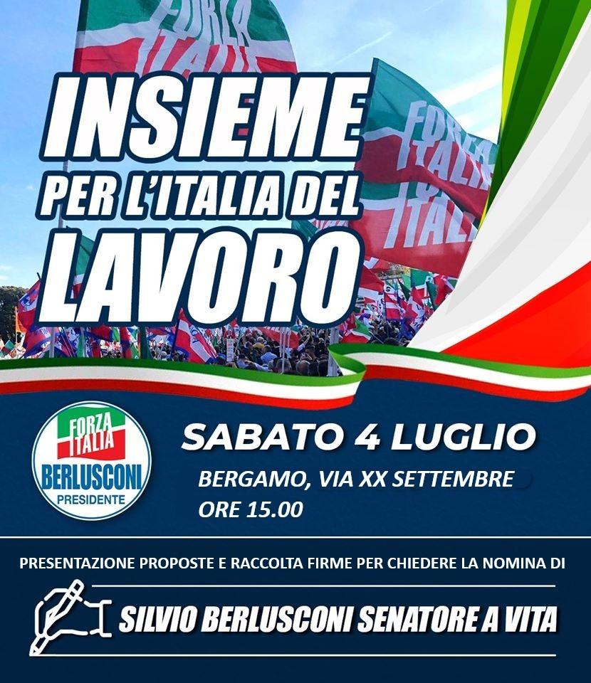 Bergamo, 4 luglio 2020 – Insieme per l'Italia del lavoro