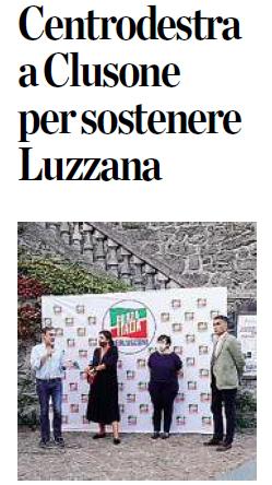Centrodestra a Clusone per sostenere Luzzana
