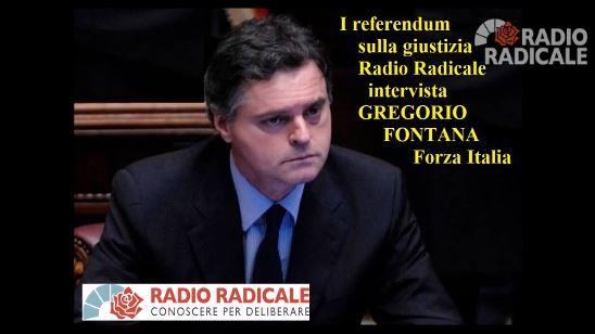 La raccolta delle firme sui referendum sulla giustizia: intervista al Responsabile organizzazione di Forza Italia Gregorio Fontana
