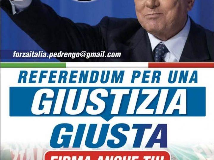 Pedrengo, domenica 5 settembre raccolta firme referendum Giustizia Giusta