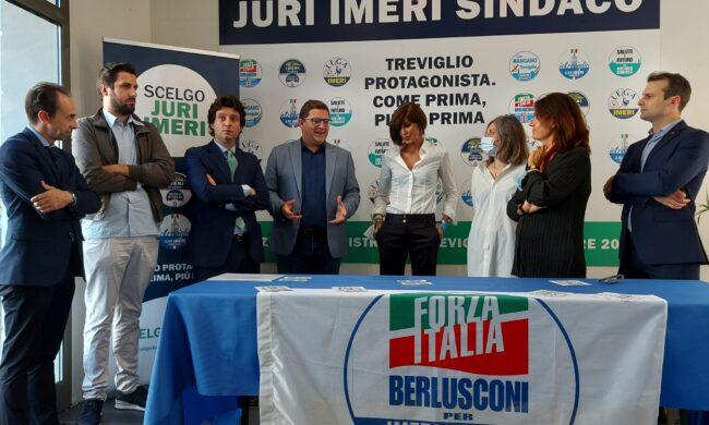 Anna Maria Bernini nella Bassa per sostenere i candidati del centrodestra
